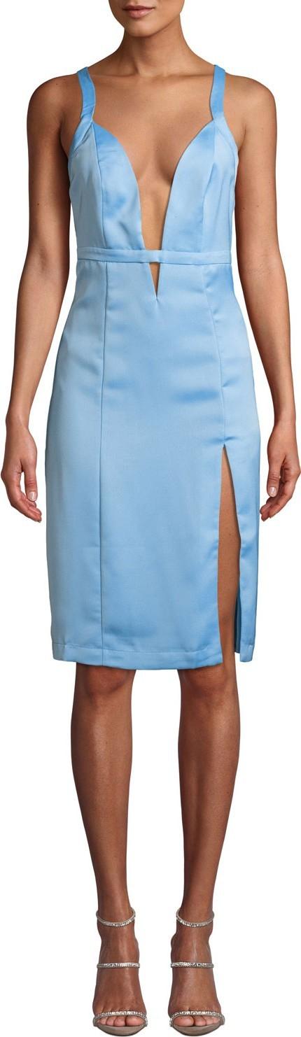 NBD Offense Crisscross Sheath Dress