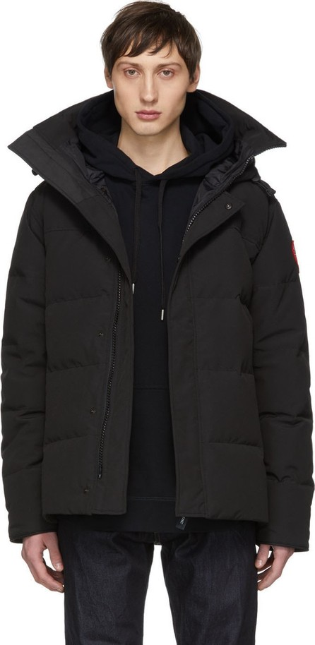 Canada Goose Black 'Black Label' Down Macmillan Jacket