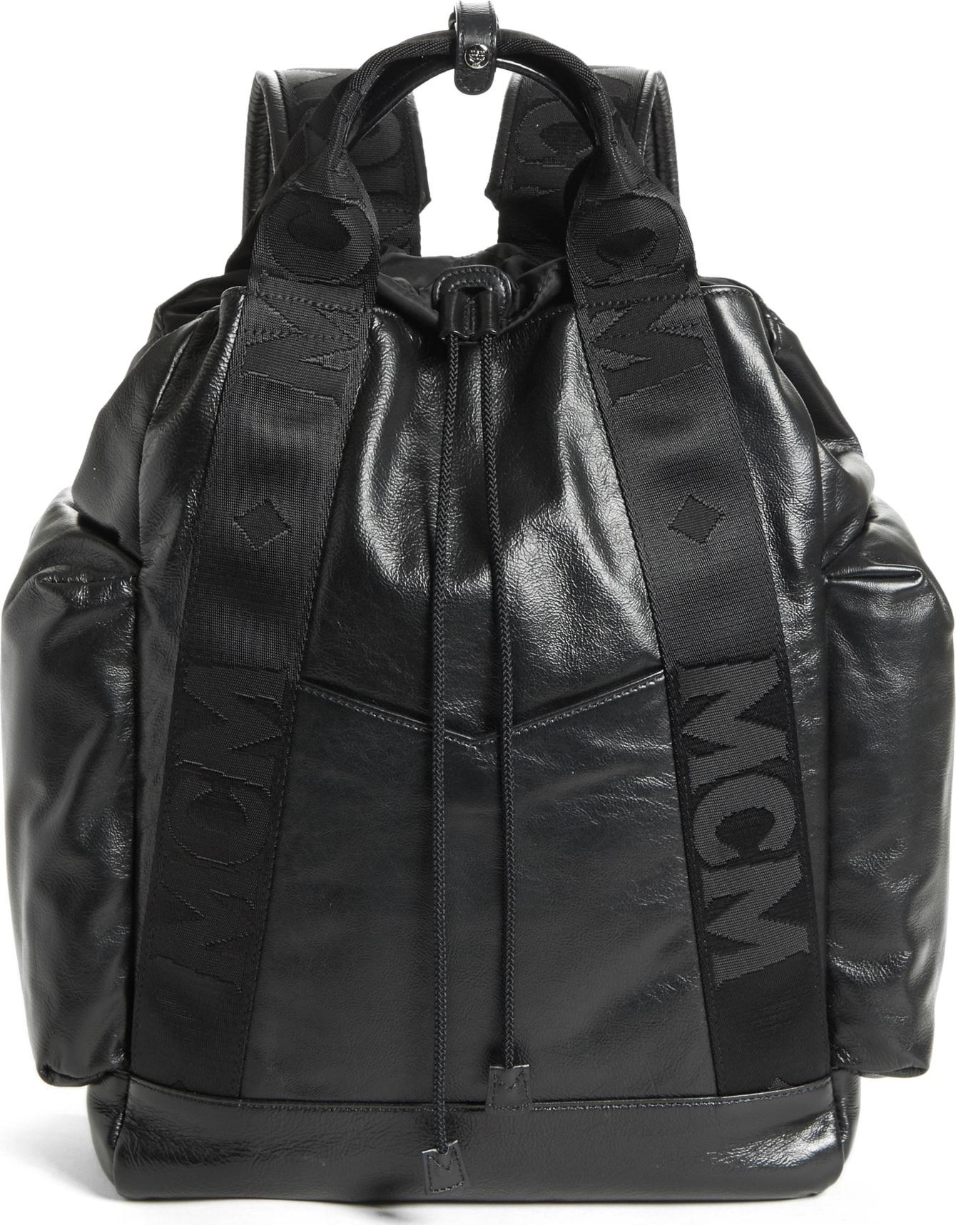 bbe9d955a8777 Mcm Black Studded Backpack- Fenix Toulouse Handball