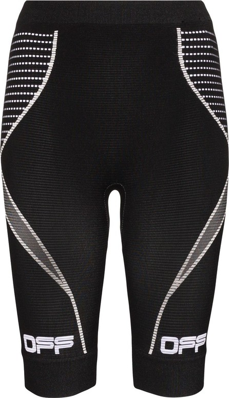 Off White Seamless knitted biker shorts