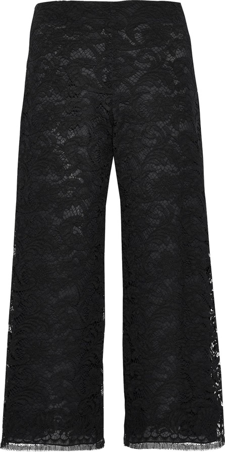 Adam Lippes Cotton-blend corded lace culottes