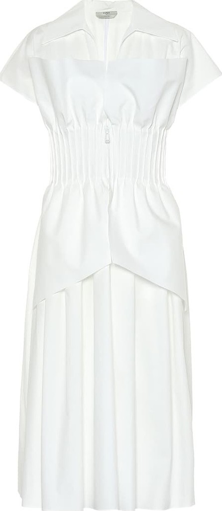 Fendi Cotton taffeta dress