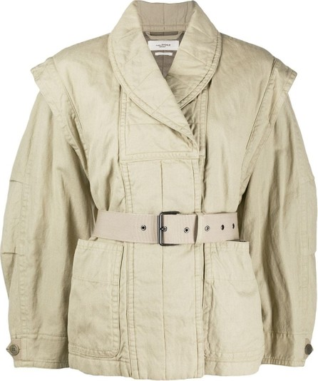 Isabel Marant Etoile Belted double-breasted jacket