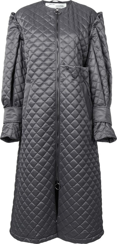Off White Quilted long coat