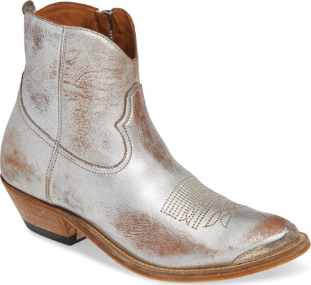Golden Goose Deluxe Brand Metallic Young Bootie