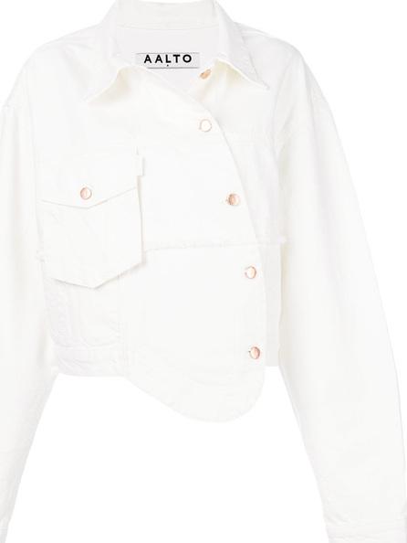Aalto Off centre fastening jacket