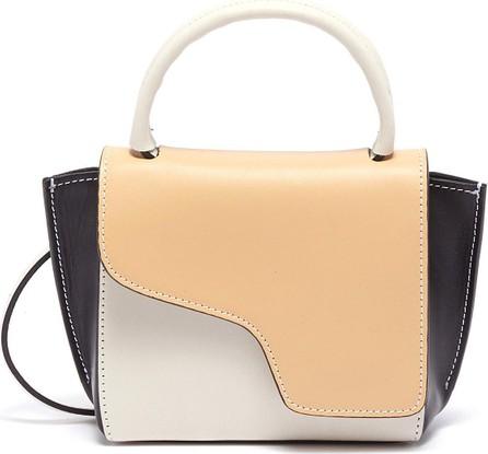 ATP Atelier Montalcino' colourblock mini top handle leather bag