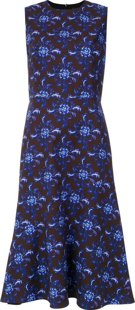 Andrea Marques Tile print dress