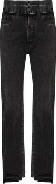 Maison Margiela Panelled step-hem slim-fit jeans
