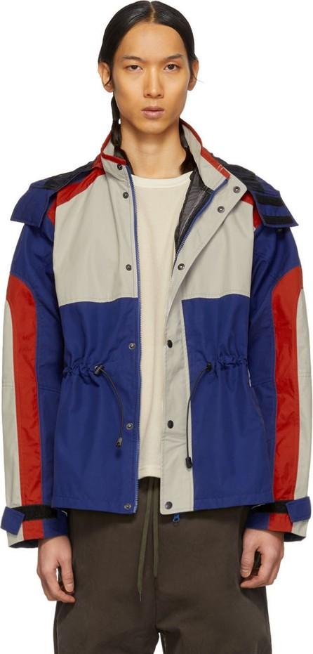 Phipps Blue & Red Organic Waterproof Jacket