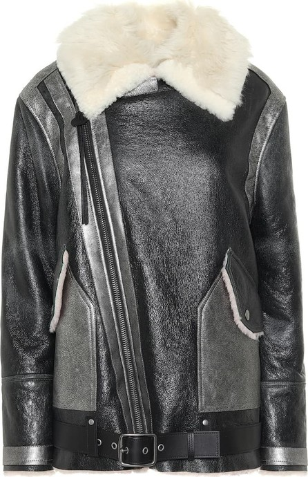 COACH Shearling leather jacket