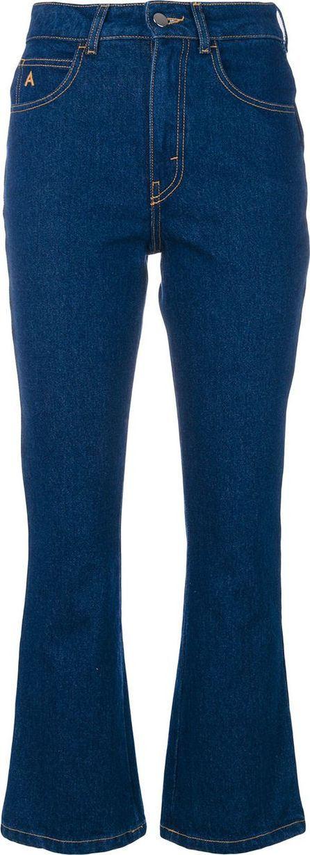 Attico cropped flared jeans