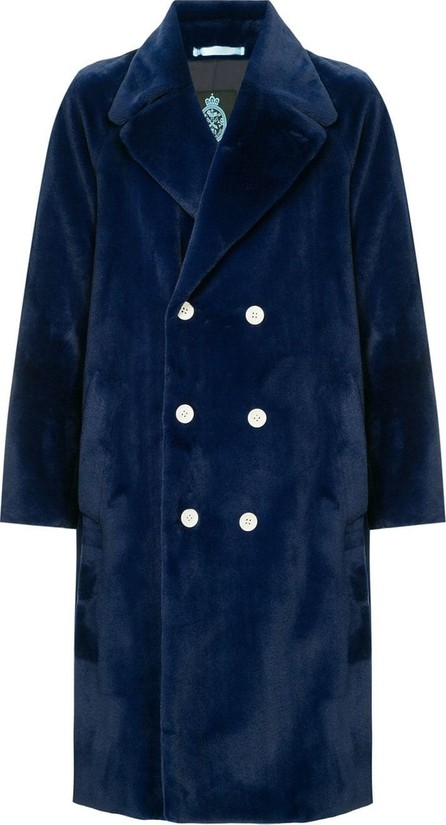 Guild Prime Faux fur double breasted coat