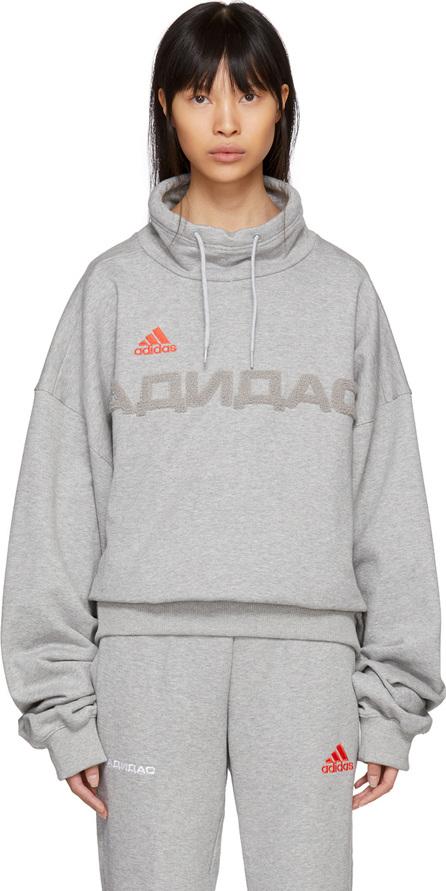 Gosha Rubchinskiy Grey adidas Originals Edition Funnel Neck Sweatshirt