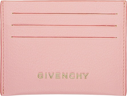 Givenchy Pink Pandora Card Holder