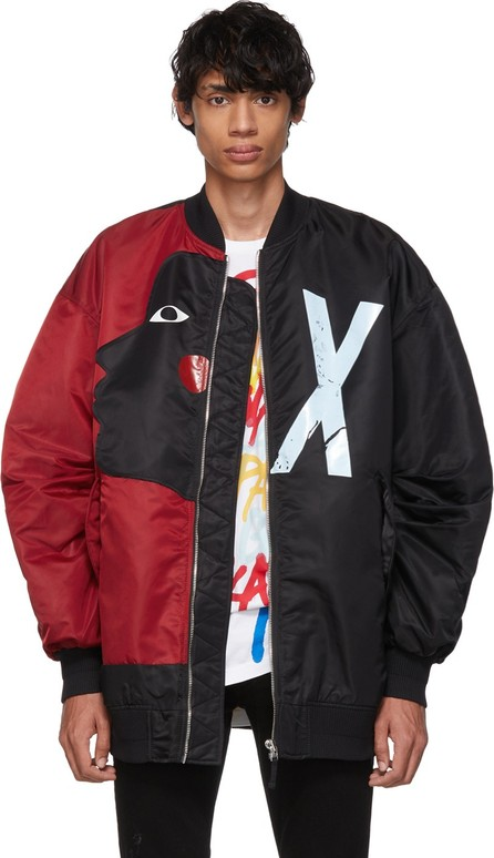 Faith Connexion Reversible Black & Red Swizz Beatz Edition RVS Bomber Jacket
