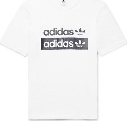 Adidas Originals Logo-Print Cotton-Jersey T-Shirt