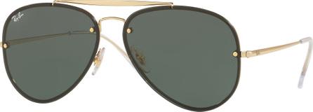 Ray Ban Brow Bar Aviator Sunglasses