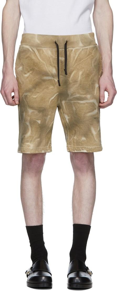 1017 ALYX 9SM Tan Dyed Pattern Shorts