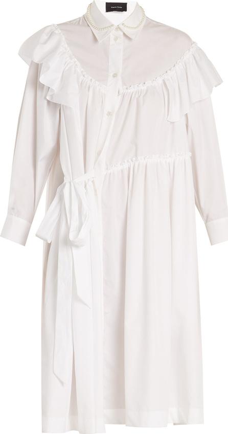 Simone Rocha Multi-panelled asymmetric gathered dress