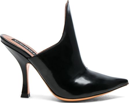 Y / Project Leather Stefania Mules