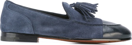 Alberto Fasciani tasseled low-heel loafers