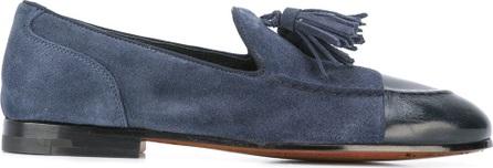 Alberto Fasciani tasseled low-heel loafers