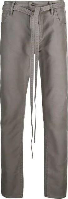 Fear of God tie waist trousers
