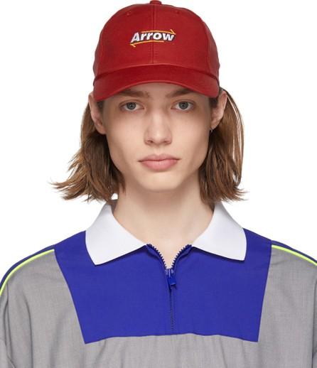 ADER error Red 'Arrow' Mesh Cap