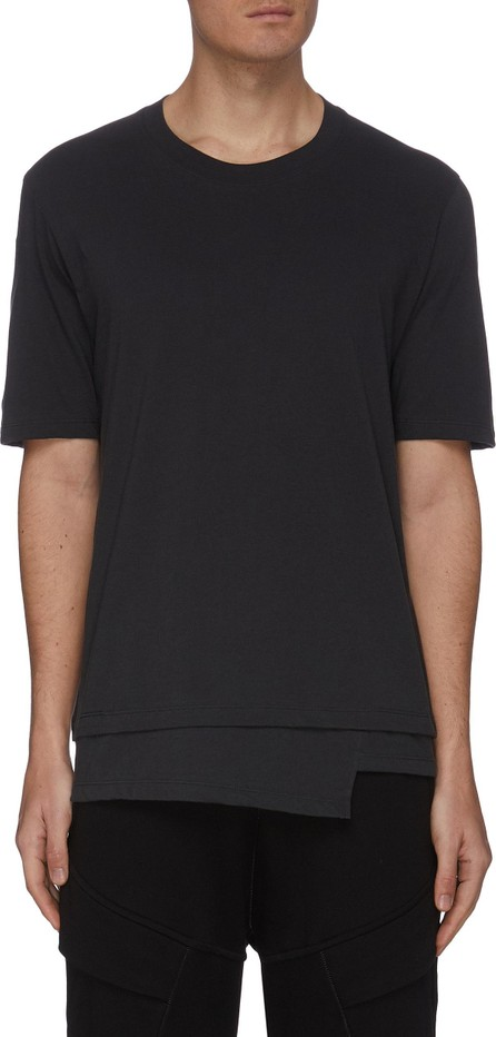 The Viridi-Anne Asymmetric Hem T-shirt