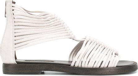 Ann Demeulemeester Rear zip gladiator sandals