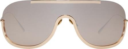 Acne Studios Gold Mask Junior Sunglasses