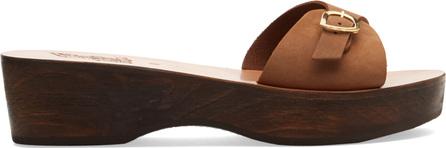 Ancient Greek Sandals Filia Sabot nubuck sandals