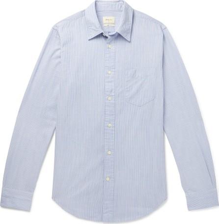Bellerose Slim-Fit Striped Cotton-Poplin Shirt