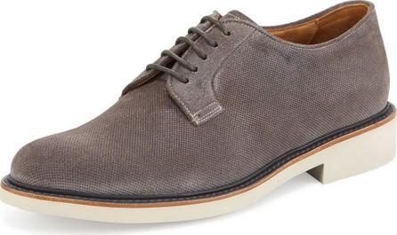 Giorgio Armani Men's Suede Low-Top Chukka Boots, Dark Gray