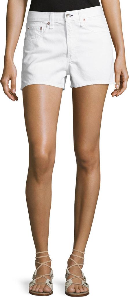 Rag & Bone Justine Mid-Rise Denim Shorts