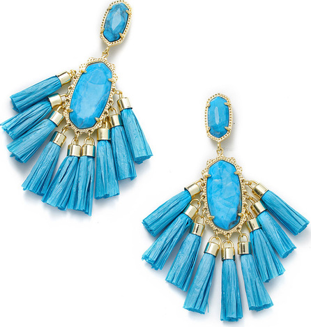 Kendra Scott Kristen Fringe Dangle Earrings