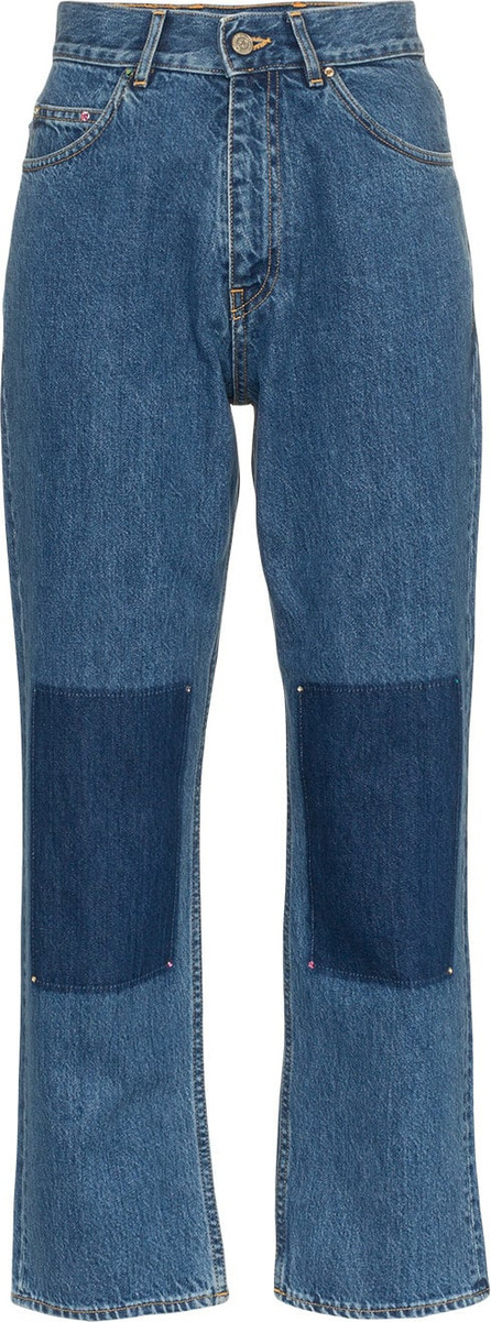 Golden Goose Deluxe Brand 'Komo' high-waisted panel detail jeans
