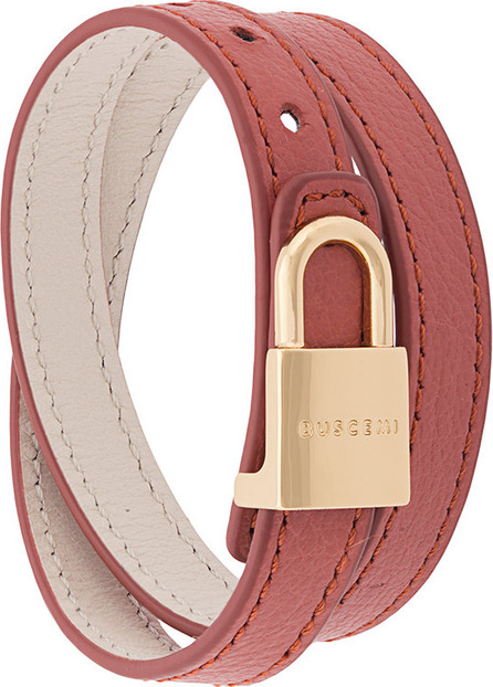 Buscemi Wrap around lock bracelet
