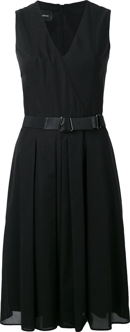 Akris wrap front dress