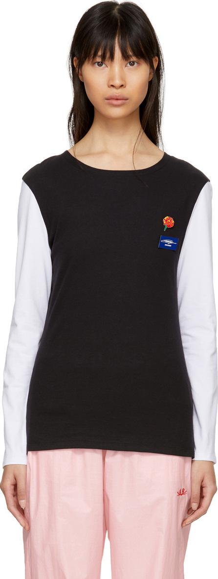 Anton Belinskiy Black and White Badges T-Shirt