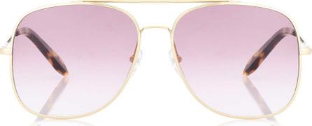 Victoria Beckham Classic Victoria aviator sunglasses