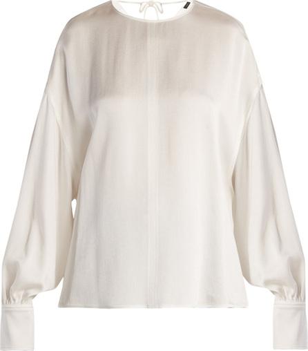 Joseph Knox crepe satin blouse
