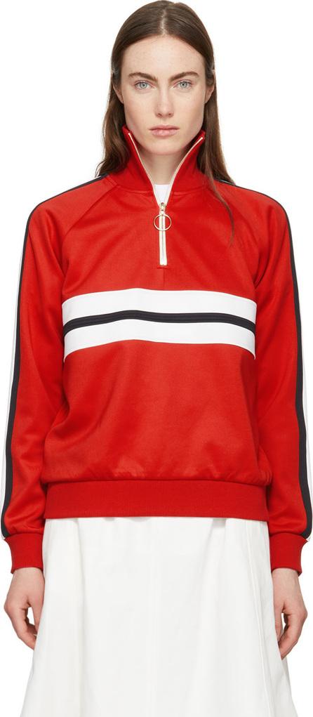 Harmony Red Sidonie Zip-Up Sweater