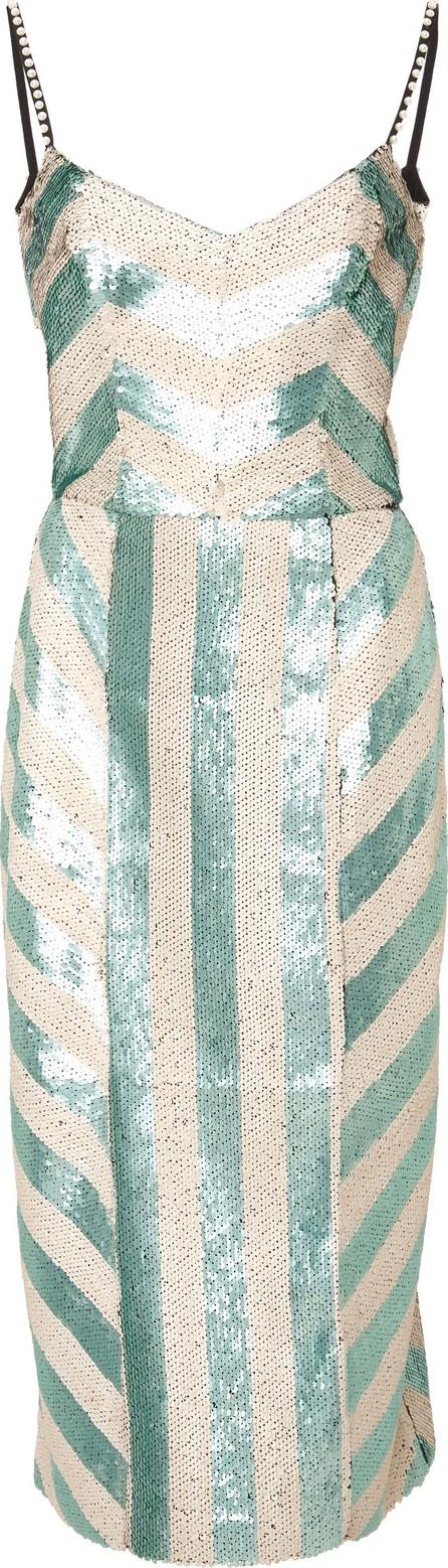 Johanna Ortiz Exclusive Salon De Paris Sequin Dress