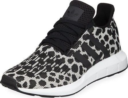 Adidas Swift Run Cheetah-Print Trainer Sneakers