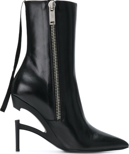 Ben Taverniti Unravel Project Zipped heel boots