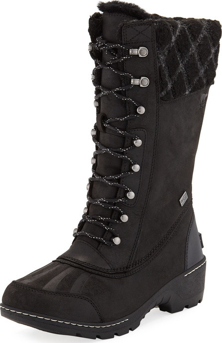 Sorel Whistler Tall Waterproof Leather Boots