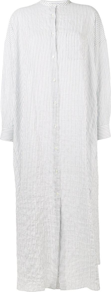 Aspesi Striped long shirt dress