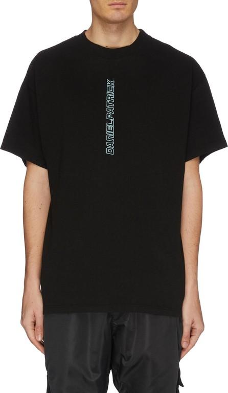 Daniel Patrick 'Vertical' logo embroidered T-shirt